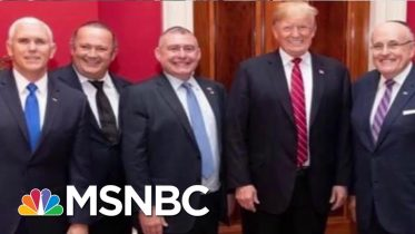 Rudy Giuliani Gets The Michael Cohen Treatment From President Donald Trump | Deadline | MSNBC 6