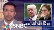 'Dominoes Beginning To Fall': Trump Turns On Giuliani After Impeachment Arrests | MSNBC 3