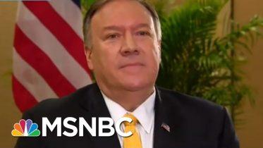 As Trump Installs Enablers, He Leaves Behind Witnesses | Rachel Maddow | MSNBC 6
