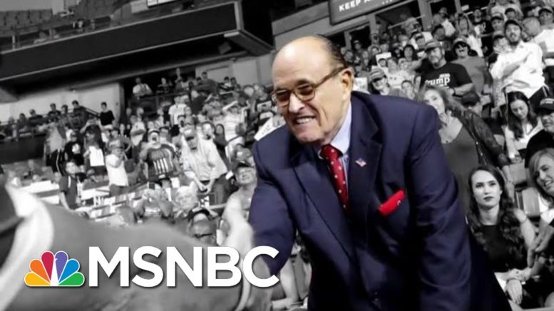 Fmr. U.S. Atty. McQuade: SDNY Investigating Giuliani Is 'Unprecedented' | The 11th Hour | MSNBC 1