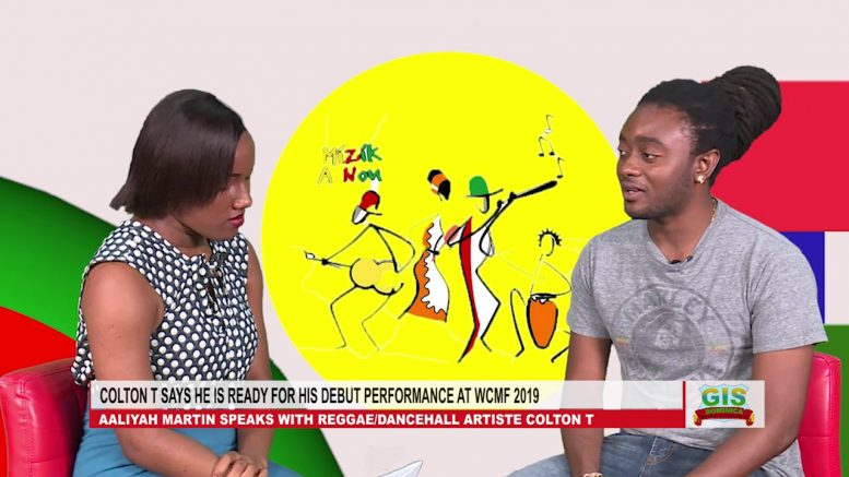 REGGAE/DANCEHALL ARTISTE COLTON T SAYS HE IS READY FOR WCMF 2019 1