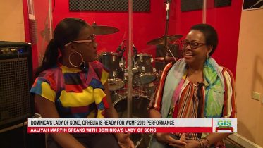 Dominica's Lady of Song, Ophelia says she is ready for WCMF 2019 6