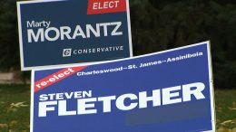 People's Party of Canada candidate recycles old Conservative sign 6