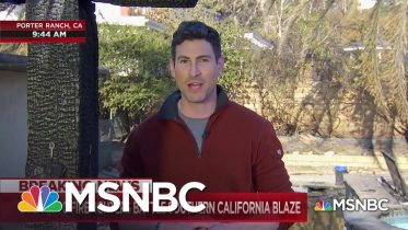California Fires Continue To Rage, Killing 1, Destroying Dozens Of Homes | MSNBC 4