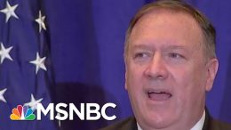 Pompeo's Lying Shows President Donald Trump WH's Bad Faith: Joe | Morning Joe | MSNBC 1