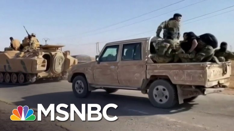 Hundreds Of ISIS Family Members Escape Camp In Syria Amid Turkish Advance | MSNBC 1