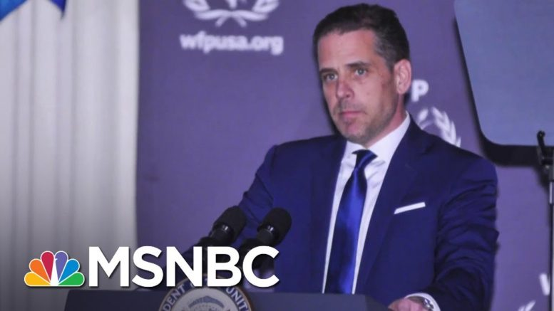 Hunter Biden To Step Down From Board Of Chinese Firm If Father Elected | MSNBC 1