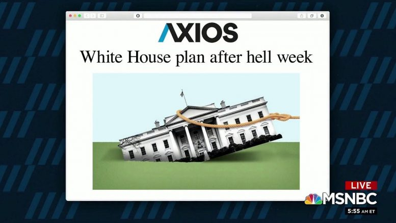 1 Big Thing: White House plan after hell week 1