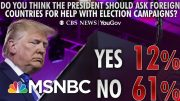 A Majority Approves Of The House's Impeachment Inquiry: Poll | Morning Joe | MSNBC 4