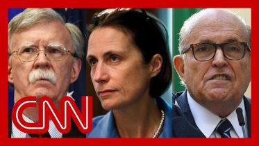 Source: Fiona Hill said Bolton called Giuliani a 'hand grenade' 6