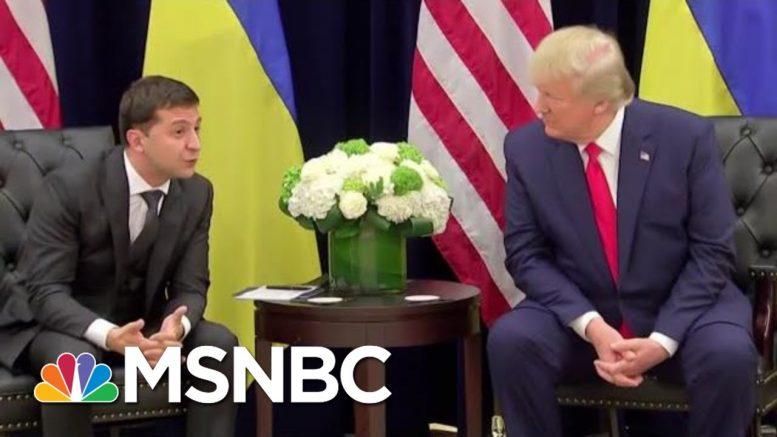The Nixonian 'Smoking Gun' From Trump Impeachment Probe | The Beat With Ari Melber | MSNBC 1