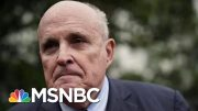 Another Domino Falls: Giuliani Goes From Hunter To Hunted On Impeachment | MSNBC 2