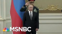 Saudi Military Band Could Use Some More Practice | All In | MSNBC 3