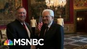 Pompeo Accuses House Democrats Of Trying 'To Intimidate' State Department | Hallie Jackson | MSNBC 3