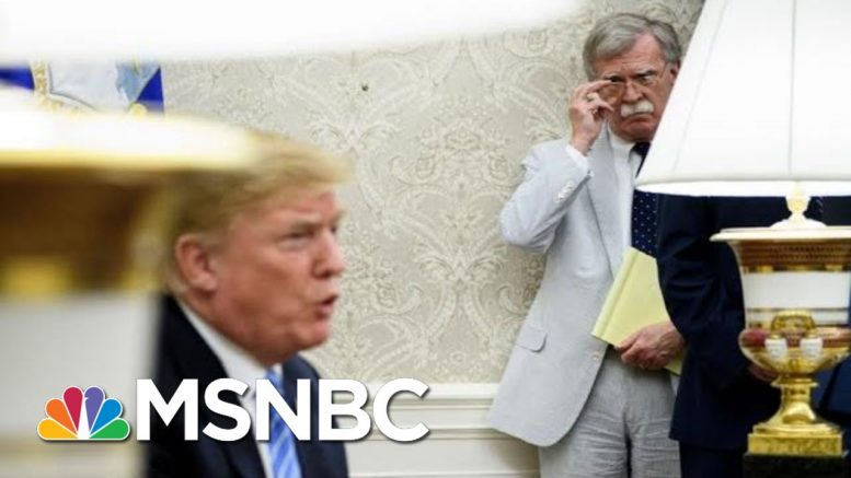NYT: John Bolton Ordered Trump Aide To Alert WH Lawyers About Ukraine | The 11th Hour | MSNBC 1