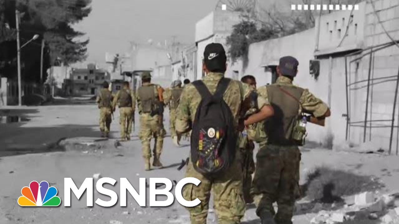 Intel Officials Warn ISIS Could Regroup After Trump Pulls Troops From Syria   The 11th Hour   MSNBC 9
