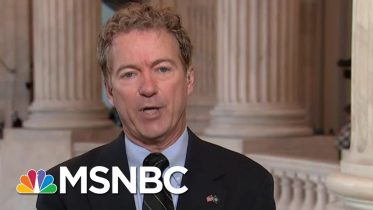 Rand Paul Talks Chaos In Syria, 'Shadow Policy' In Ukraine, Hunter Biden | Velshi & Ruhle | MSNBC 6