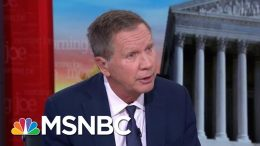 What Would It Take For Kasich To Run In 2020? | Morning Joe | MSNBC 6