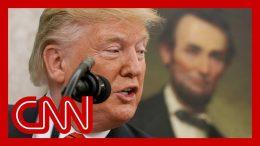 Historian calls Trump's tweet 'scary' 9