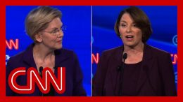Klobuchar clashes with Warren on health care: There's a difference between a plan and a pipe dream 1