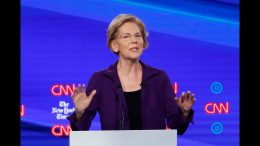 "Manchester: ""Elizabeth Warren had a target on her back"" at Democratic debate 4"