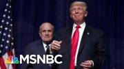 Leaked Testimony Unveils President Donald Trump's 'Shadow Foreign Policy' | Velshi & Ruhle | MSNBC 5