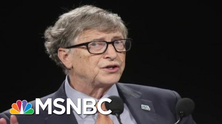 NYT: Bill Gates Repeatedly Met With Jeffrey Epstein   Velshi & Ruhle   MSNBC 1