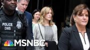 Felicity Huffman Reports To Prison For 14-Day Sentence | Velshi & Ruhle | MSNBC 5