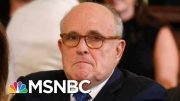 'What I've Seen Horrifies Me': NY Fed Insider On Giuliani Criminal Probe | MSNBC 3