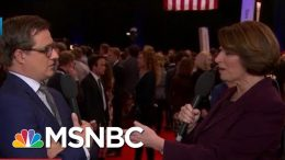 Amy Klobuchar On Sparring With Warren In Debate | All In | MSNBC 7