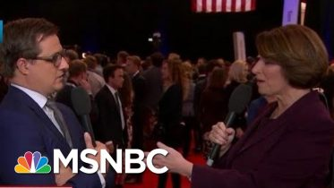 Amy Klobuchar On Sparring With Warren In Debate | All In | MSNBC 10