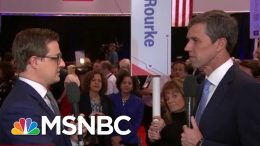 Beto O'Rourke On Pete Buttigieg: 'I Question His Political Courage' | All In | MSNBC 5