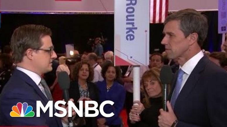 Beto O'Rourke On Pete Buttigieg: 'I Question His Political Courage' | All In | MSNBC 1