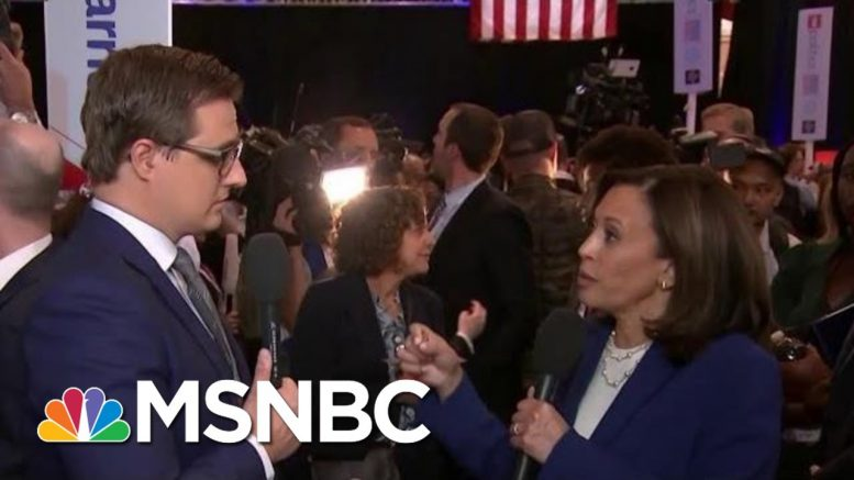 Kamala Harris Says Trump 'Like A Two Year Old With A Machine Gun' On Twitter | All In | MSNBC 1