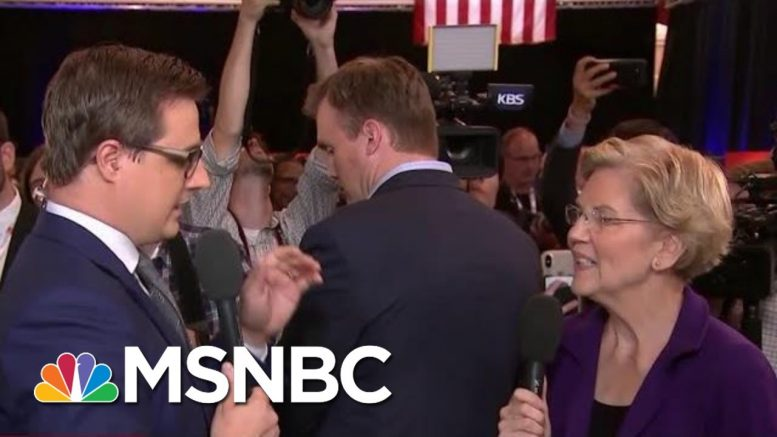 Elizabeth Warren On The Money In Presidential Campaigns | All In | MSNBC 1