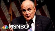 Rudy Giuliani: 'Hand Grenade' Under Investigation - The Day That Was | MSNBC 2