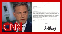 Jake Tapper: I thought this Trump letter was a joke ... it's real 1