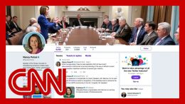 Trump tweets picture to troll Pelosi. She makes it her cover photo 8