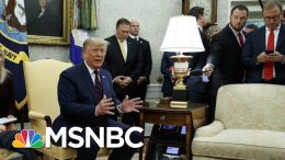 President Donald Trump On Turkey And The Kurds: 'They've Got To Work It Out' | MSNBC 7