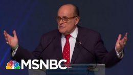 'Horrifying, Abnormal' & Maybe 'Criminal': NY Fed Insider On Giuliani Probe And Trump Plot   MSNBC 8