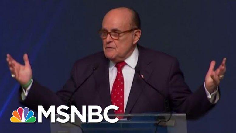 'Horrifying, Abnormal' & Maybe 'Criminal': NY Fed Insider On Giuliani Probe And Trump Plot | MSNBC 1