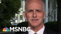 Adam Smith: Meeting With Trump Continued After Democratic Leadership Walked Out | MTP Daily | MSNBC 4