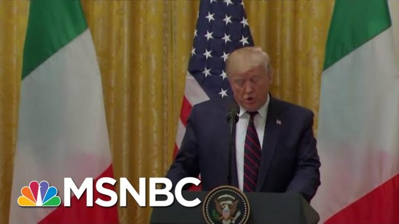 Trump Calls Mattis 'The World's Most Overrated General' In Meeting On Syria | Hardball | MSNBC 1