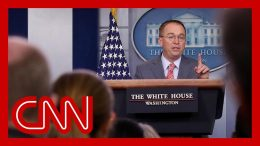 Mick Mulvaney tries to walkback quid pro quo after admitting it 6