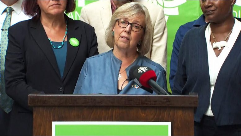 'Career politicians are not healthy in our democracy' warns Elizabeth May 1