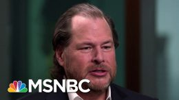 Salesforce CEO Says It's Time To Hold Facebook Accountable | Velshi & Ruhle | MSNBC 8