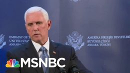 Mike Pence Announces The U.S. And Turkey Have Agreed To A Ceasefire In Syria | MSNBC 6