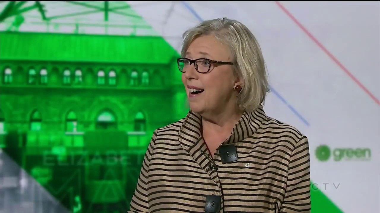 Green Party Leader Elizabeth May shares vision of greener Canada 1