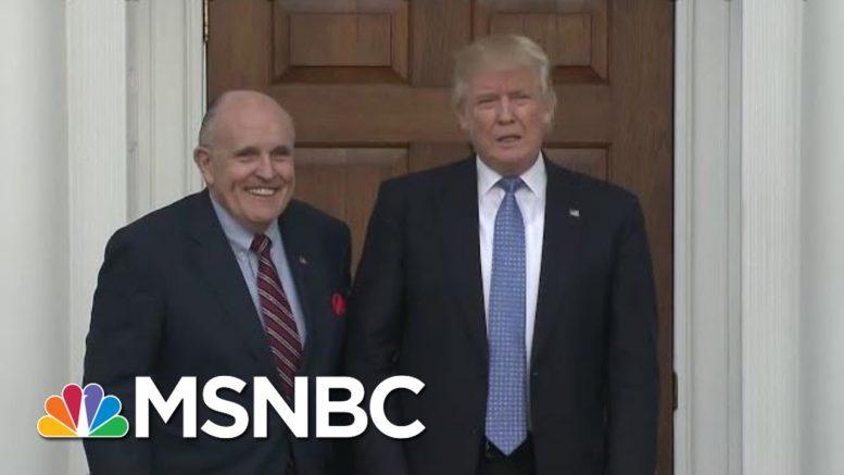 'Off The Rails' : Longtime Trump Lawyer Slams Giuliani On Ukraine And Criminal Exposure   MSNBC 1