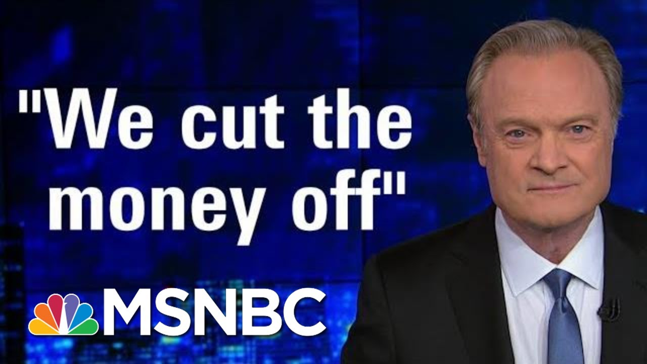W.H. Chief Of Staff Admits 'We Held Up The Money' To Ukraine   The Last Word   MSNBC 2